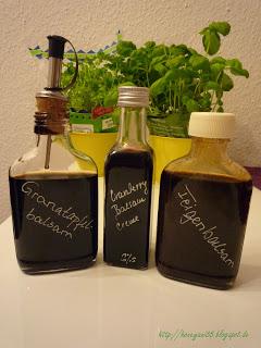 Balsamessige Cranberrybalsam, Granatapfelbalsam, Feigenbalsam