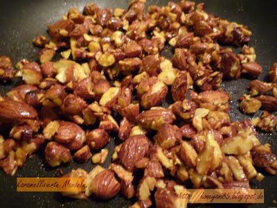 Erfahrungsbericht für die Vegan for fit Challenge von Attila Hildmann karamelisierte Chili Mandeln