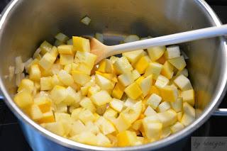 Rezept Kartoffel-rote Bete Eintopf mit Zucchini