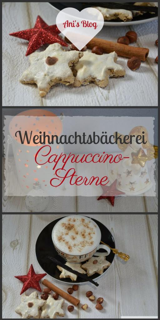 Die Weihnachtsplätzchen für alle Kaffe-Süchtigen Zimtstern Liebhaber. In diesem Rezept für Weihnachtsgebäck vereinen sich Zimtsterne mit einer leckeren Cappuccino Note und Schokoraspeln.