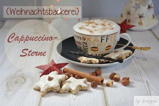 Rezept Weihnachtsplätzchen Cappuccino-Sterne