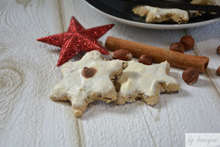 Weihnachtsbäckerei Rezept Schoko-Cappuccino-Sterne