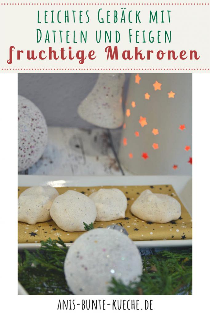 Rezept für fruchtige Makronen in der Weihnachtsbäckerei