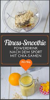 Fitnessdrink - Smoothies füllen nach dem Sport mit Obst und Haferflocken deine Energiereserven wieder auf