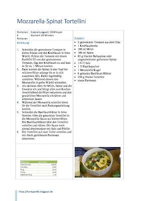 Feierabendküche: cremige Mozzarella Spinat Tortellini mit getrockneten Tomaten   Rezept   schnelles Mittagessen   schnelles Abendessen oder Lunch