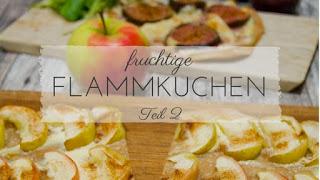 Herbst Rezepte: fruchtige Flammkuchen Varianten mit Feige, Ziegenweichkäserollen und Apfel mit Zimt. So liebe ich den Herbst!