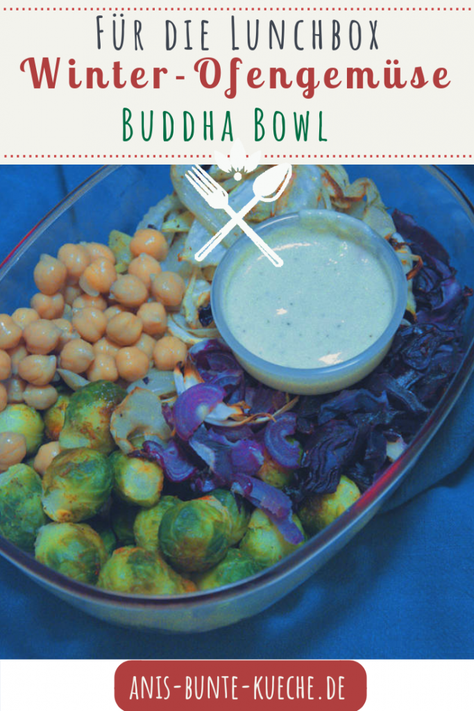 Winter Ofengemüse Buddha Bowl