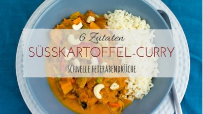 Rezept Süßkartoffel-Wokgemüse-Curry by Anis Blog