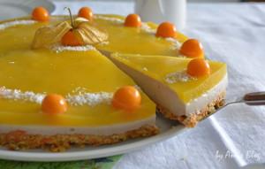 Mango Torte mit Physalis