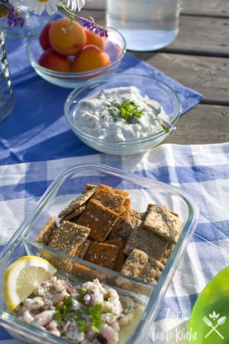 Ein Krabbensalat gehört auf jedes schwedische Buffet oder zum Picknick.