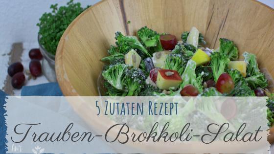 Brokkoli Salat mit 5 Zutaten