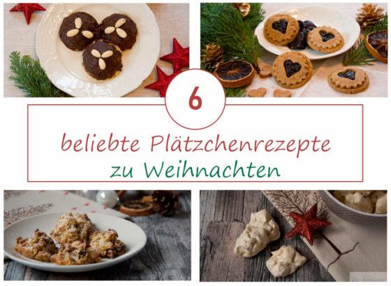 Die Besten Weihnachtsplätzchen Rezepte.6 Beliebte Plätzchen Rezepte Zu Weihnachten Ani S Bunte Küche