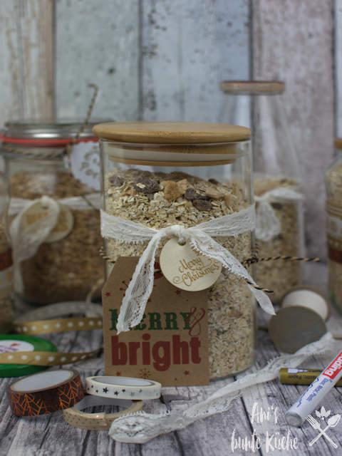 DIY Geschenk aus der Küche - Bratapfel Porridge