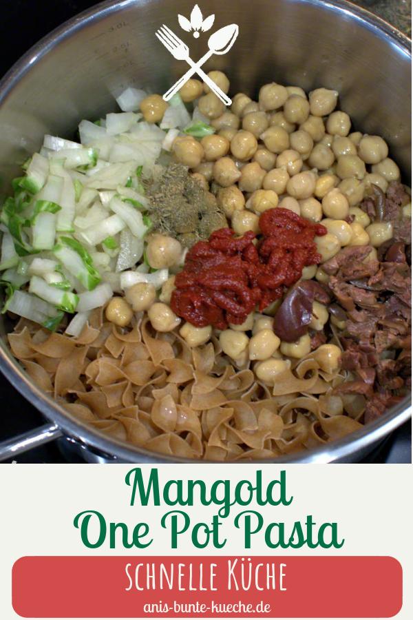 Mangold One Pot Pasta