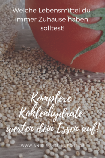 komplexe Kohlenhydrate: Quinoa