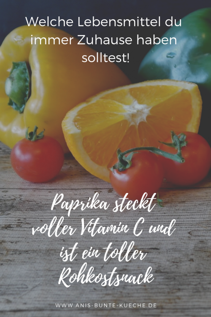 Paprika steckt voller Vitamin C