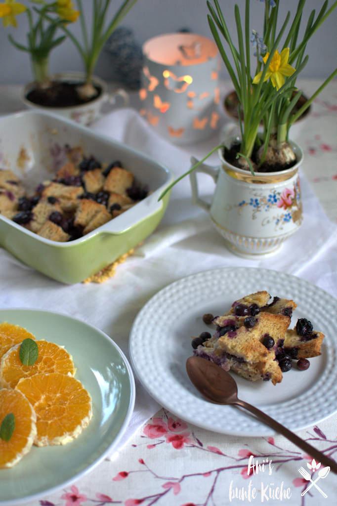 Osterfrühstück Frühstückstisch