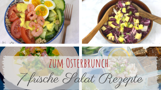 7 frische Salat Rezepte zum Osterbrunch