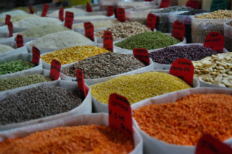 Bohnen und Linsen haben durch sekundäre Pflanzenstoffe antioxidative Wirkung.
