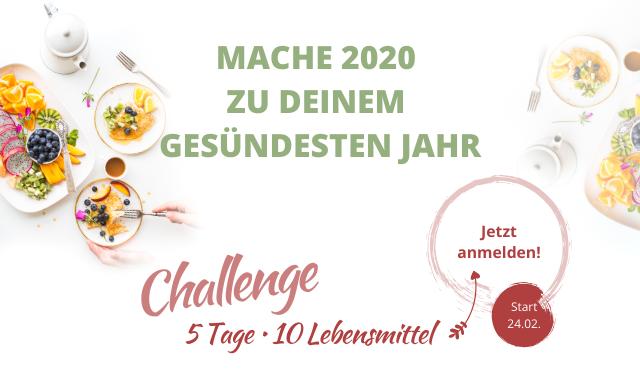 Anmeldung 10 am Tag Challenge