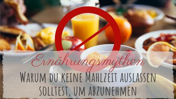 Hilft es Mahlzeiten auszulassen um abzunehmen?