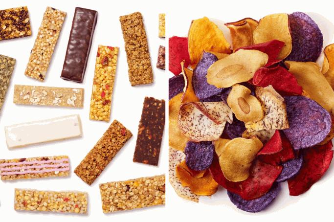 Erährungsfehler: Biochips und Müsliriegel sind gesund?