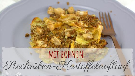 Steckrüben-Kartoffel-Auflauf Rezept