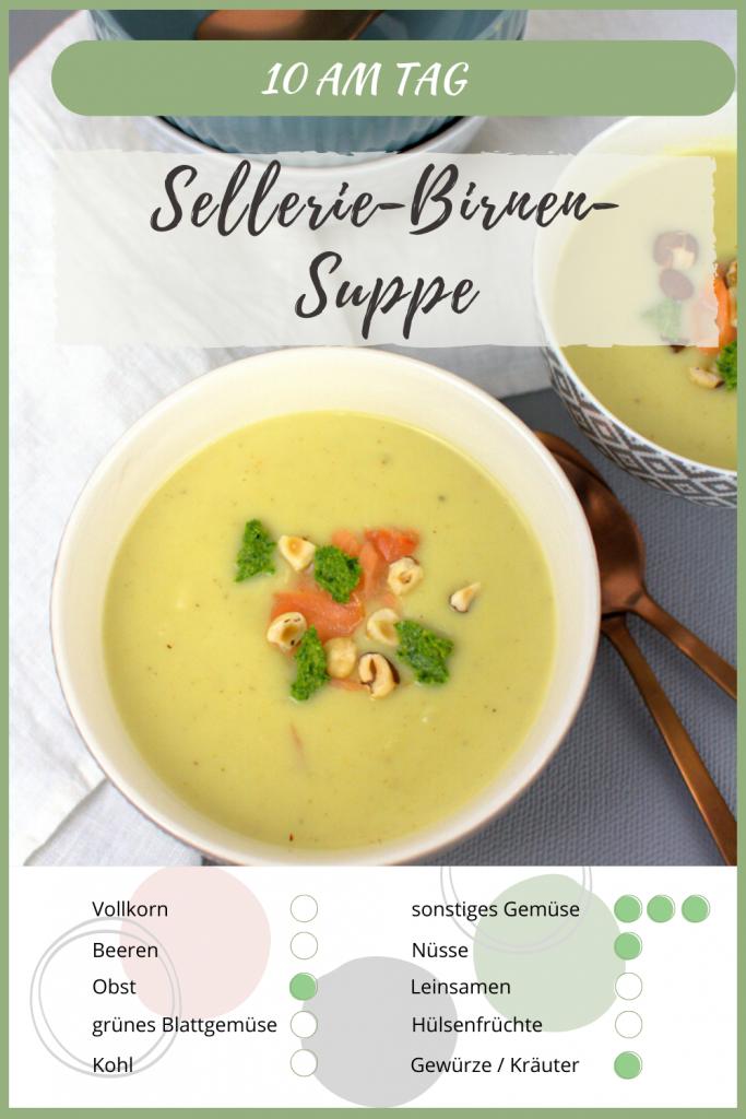 Sellerie-Suppe aus 5 Zutaten.