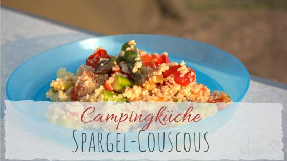 grüner Spargel Couscous Rezept