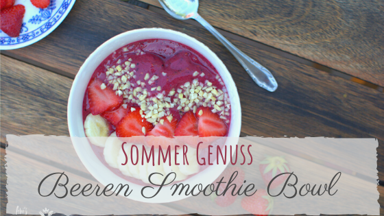 Rezept Beeren Smoothie Bowl
