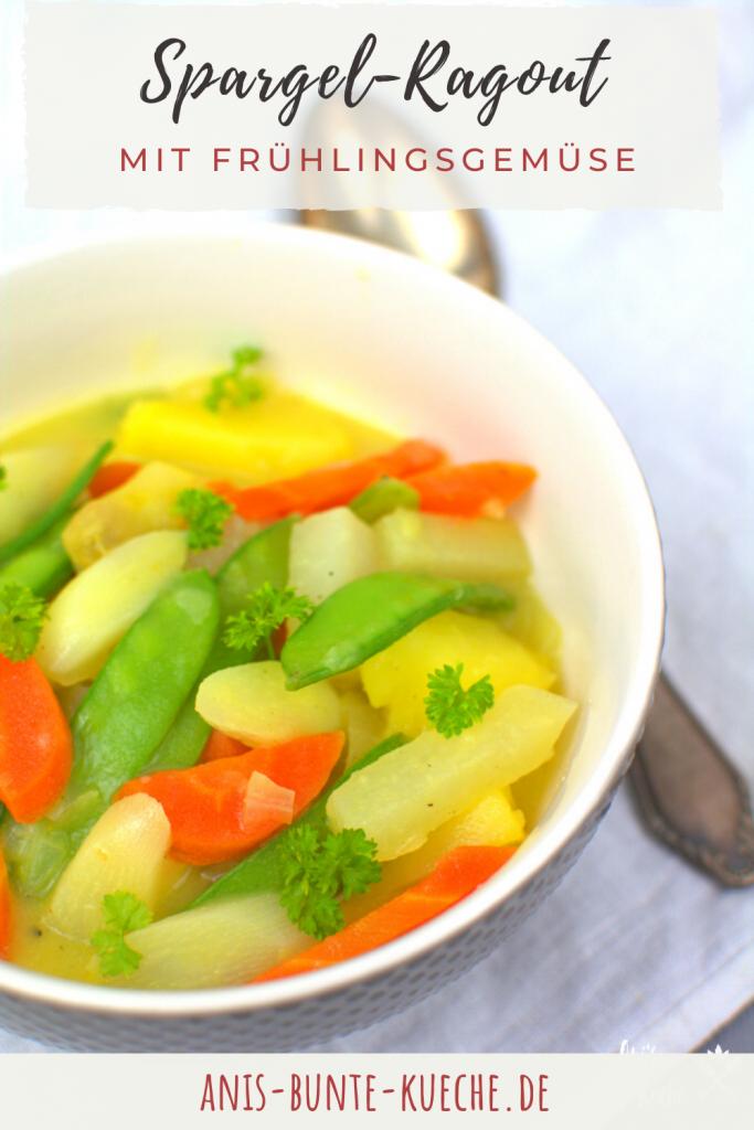 Spargel-Ragout mit Frühlings-Gemüse
