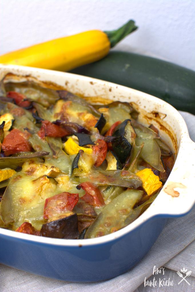 Ratatouille aus dem Ofen