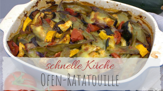 Rezept Ratatouille aus dem Ofen
