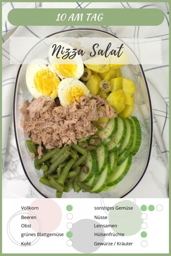 Nizza Salat 10 am Tag