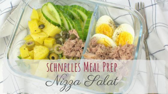 Schneller Nizza Salat - Rezept für die Mittagspause