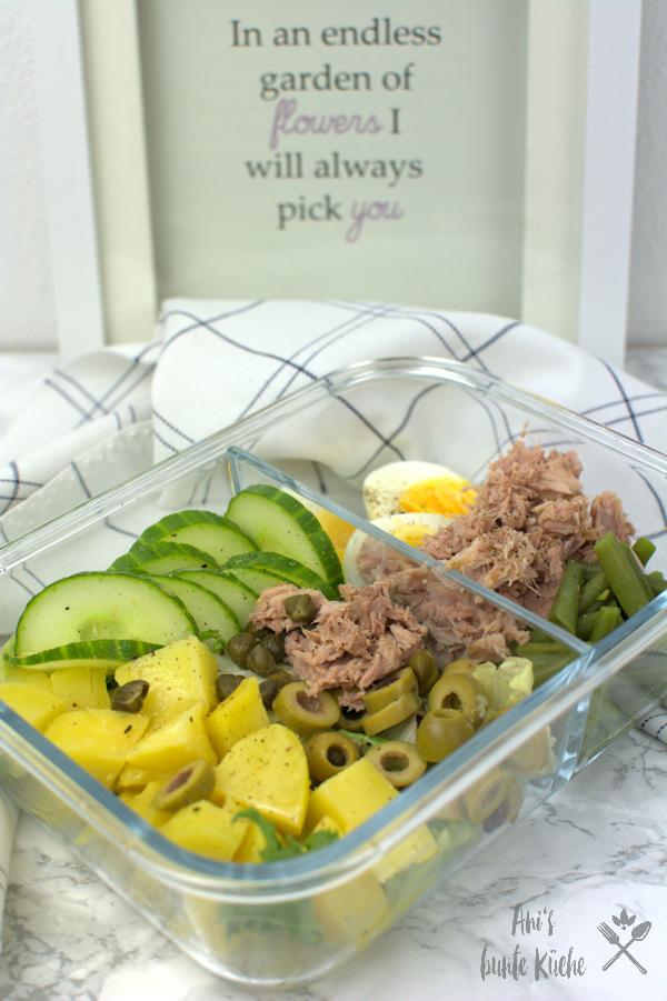 Nizza Salat zum Mitnehmen