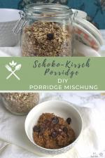 DIY Schoko-Kirsch Porridge Mischung