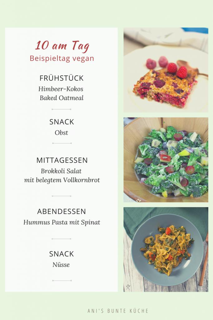 Gesund ernähren mit diesem Speiseplan