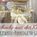 Geschenke aus der Küche: Bratapfel Porridge to go zum Frühstück