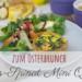 { Osterbrunch } Lachs-Spinat Mini Quiche mit Vollkorn Dinkelmehl